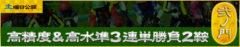 悪徳競馬予想リーク情報_必的!!競馬の達人_有料情報_弐の門_高精度&高水準3連単勝負2鞍