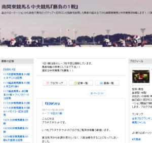 南関東競馬&中央競馬『勝負の1鞍』