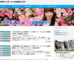 予想家シンガーセイカの競馬ブログのTOP画像